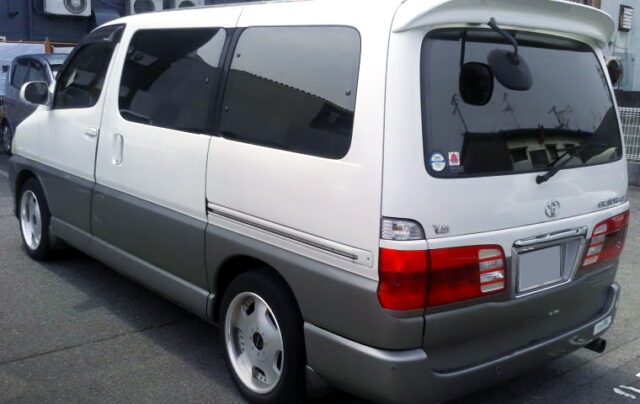 REAR EXTERIOR OF GRAND HIACE G.