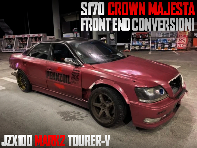 CROWN MAJESTA FRONT END CONVERSION JZX100 MARK2.