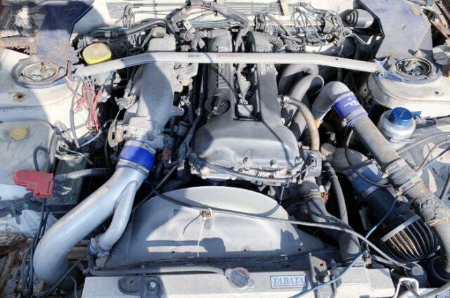 S14 SR20DET BLACK TOP with GREDDY T518Z 8cm TURBINE.