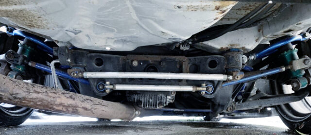 REAR SUBFRAME OF 180SX.