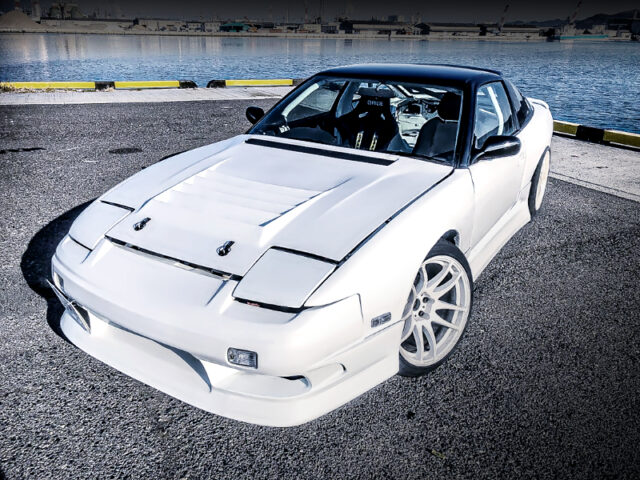 FRONT EXTERIOR OF RPS13 180SX TYPE-X.