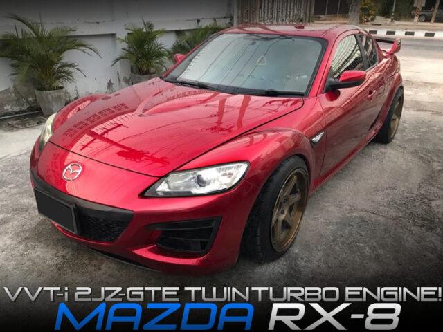 2JZ-GTE TWINTURBO SWAPPED RX8.