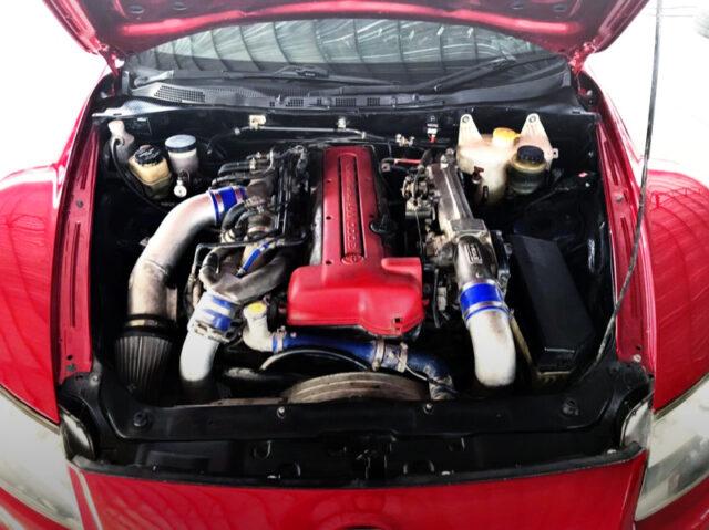 2JZ-GTE TWINTURBO ENGINE.