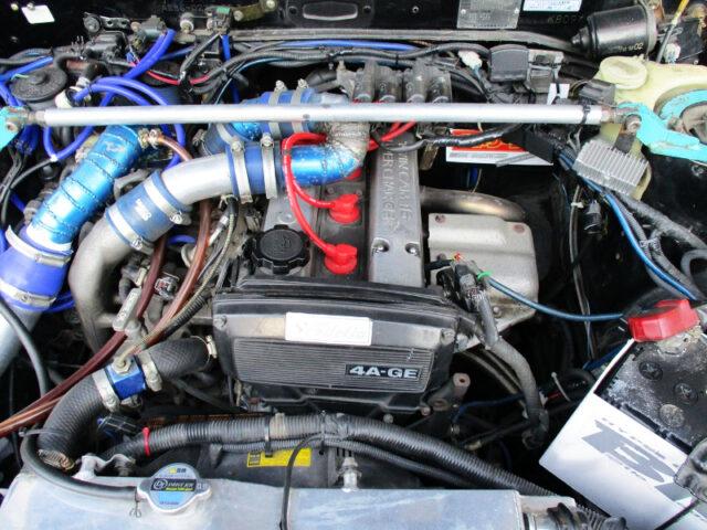 AE101 4AGZE 1.6L SUPERCHARGER ENGINE.