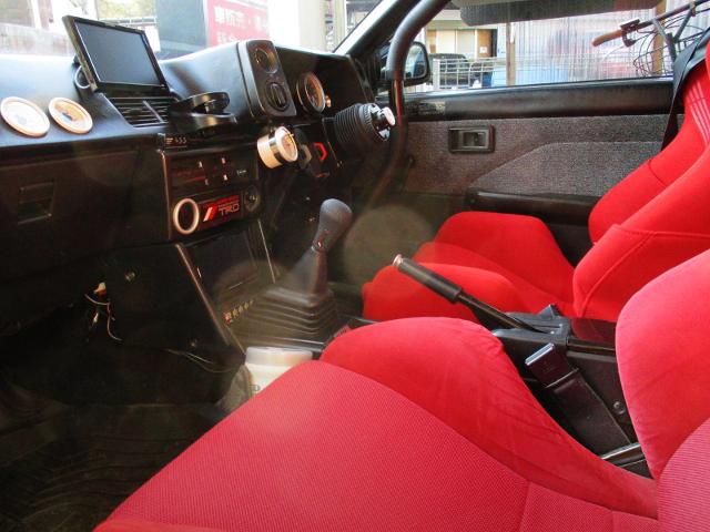 DASHBOARD OF AE86 TRUENO GT.