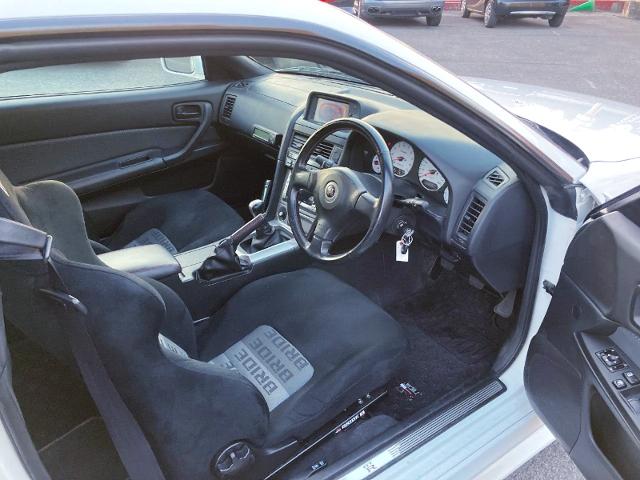 INTERIOR OF R34 GT-R V-SPEC.