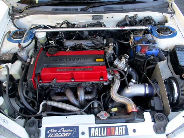 4G63 TURBO ENGINE OF EVO 5 MOTOR.