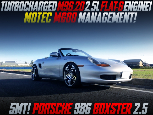TURBOCHARGED M96 2.5L ENGINE into PORSCHE 986 BOXSTER.