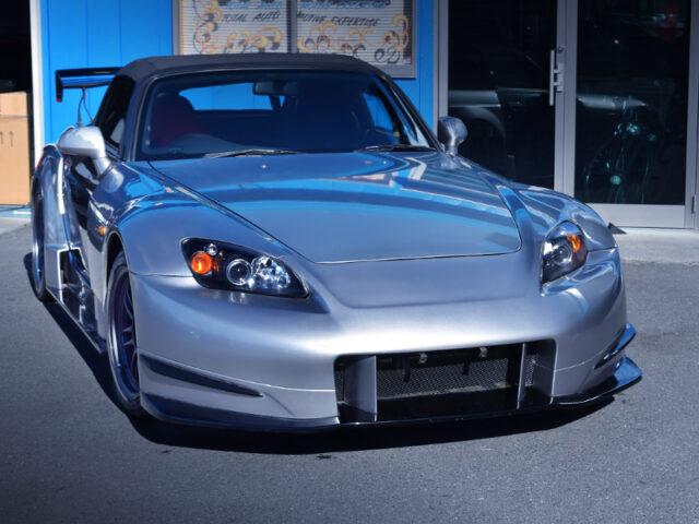 FRONT EXTERIOR OF AP1 S2000 GT1 WIDEBODY.