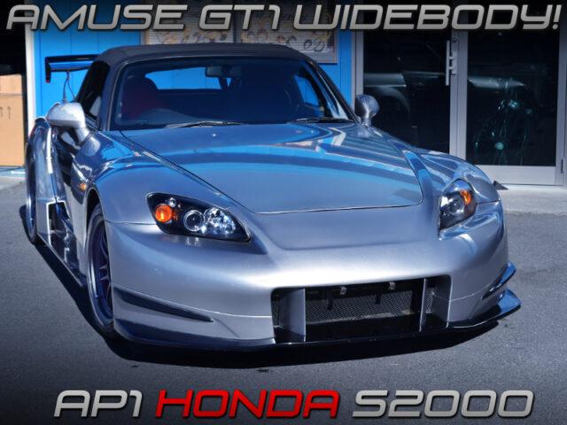 AMUSE GT1 WIDEBODY INSTALLED AP1 S2000.