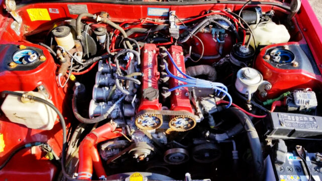 16V 4AGE ENGINE with AE101 ITB'S.