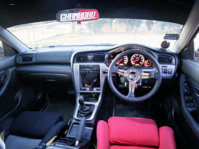 DASHBOARD OF BE5 LEGACY B4.