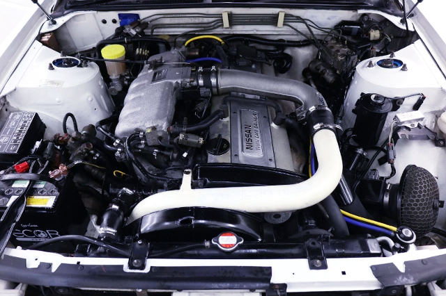 RB20DET 2.0L TURBO ENGINE.