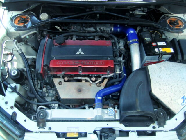 MIVEC 4G63T with TOMEI 2.3L KIT and M7960 TURBOCHARGER.