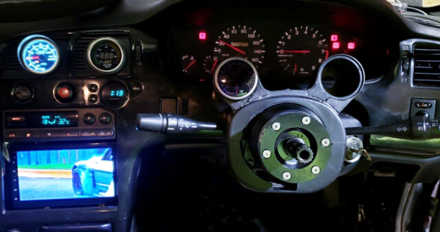 SPEED CLUSTER and NAVI.