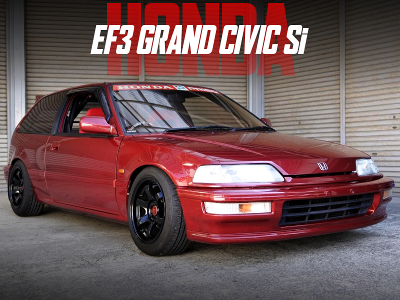 ZC ENGINE and 5MT OF EF3 GRAND CIVIC HATCH Si.