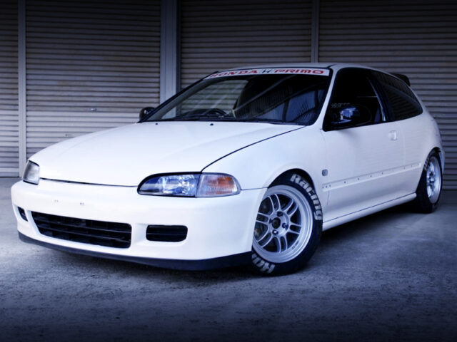 FRONT EXTERIOR OF EG6 CIVIC SiR2.