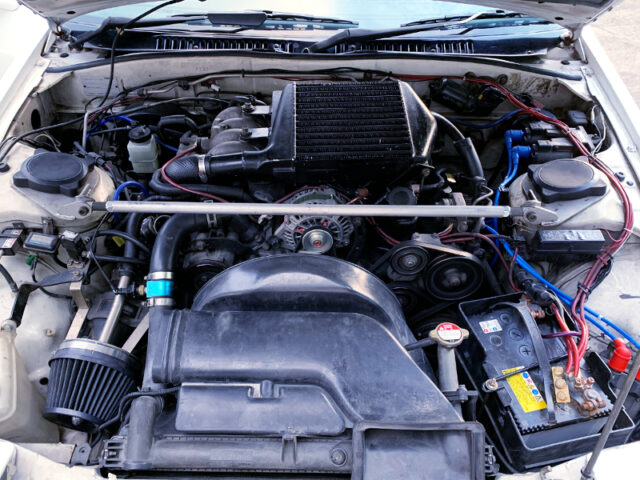13B-T with HIGH-FLOW TURBO.