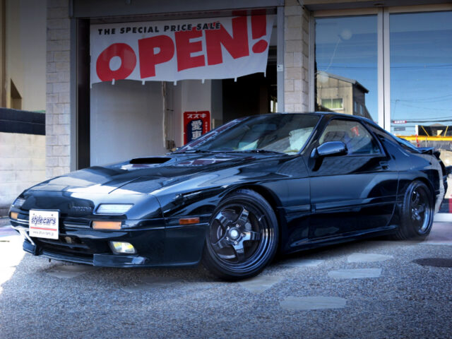 FRONT EXTERIOR OF FC3S RX7 GTX.