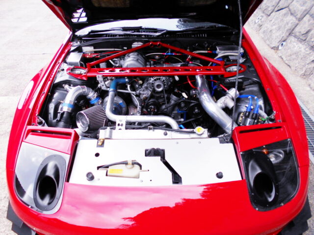 13B SIDE PORT with TD06-25G SINGLE TURBO.
