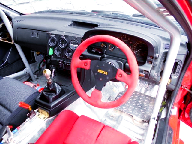 DASHBOARD and ROLL BAR.