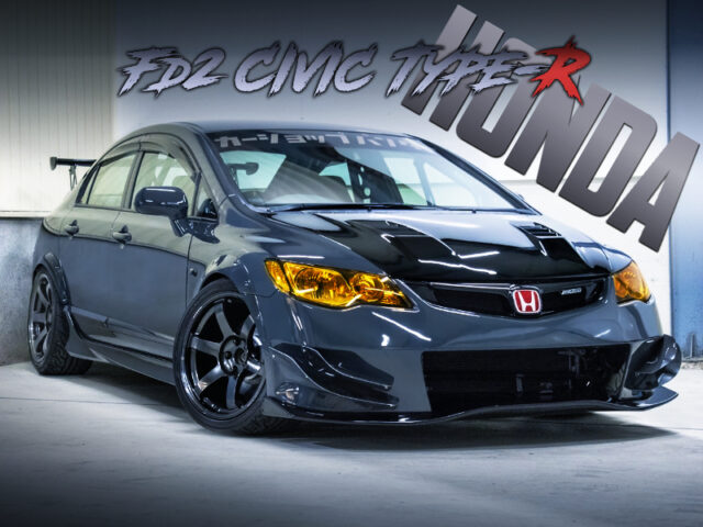 WIDEBODY and TWO-SEATER OF FD2 CIVIC TYPE-R.