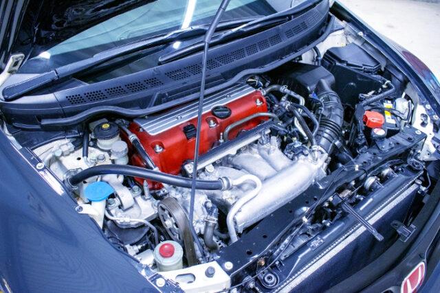 K20A i-VTEC ENGINE OF FD2R MOTOR.