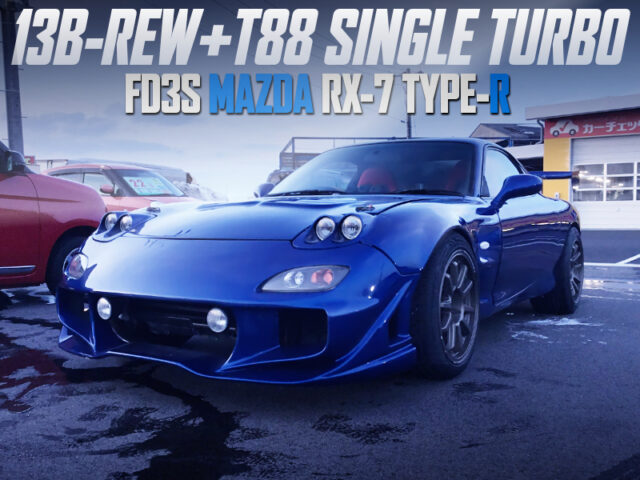 T88 SINGLE TURBOCHARGED FD3S RX-7 TYPE-R.