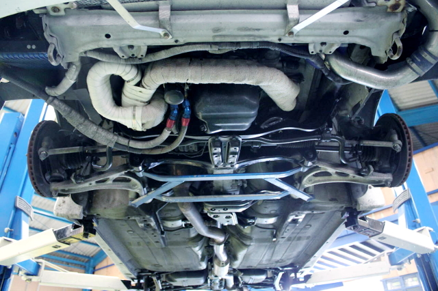 UNDER BODY OF GC8 IMPREZA WRX STi Ver 6.