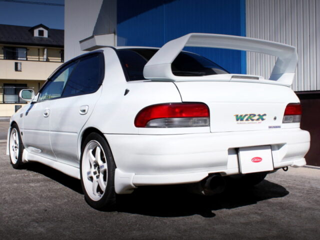 REAR EXTERIOR OF GC8 IMPREZA WRX STi Ver 6.