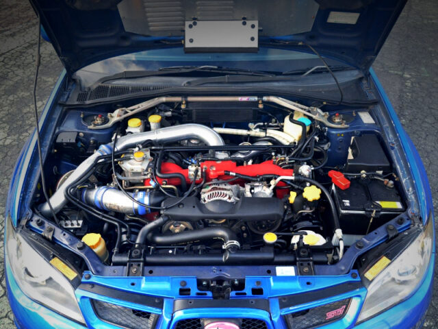 EJ207 with 2.2L KIT and GT2835 TURBO.