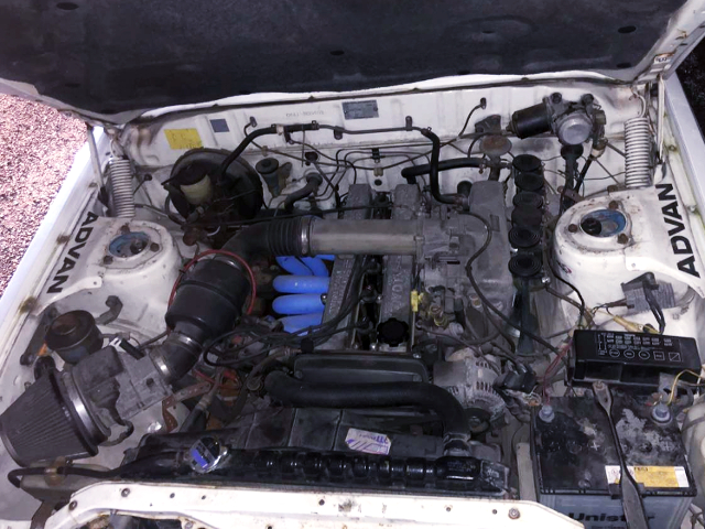 1G-GEU TWINCAM-24 ENGINE.