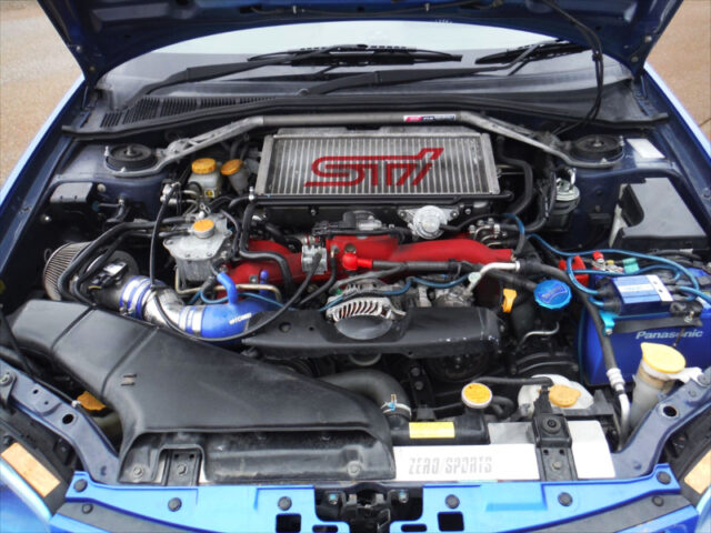 EJ207 BOXER TURBO ENGINE with TOMEI TURBINE.