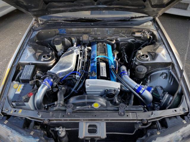 RB20DET 2.0L TURBO ENGINE.