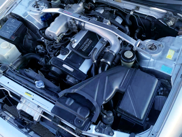 RB25DET 2.5L TURBO ENGINE.