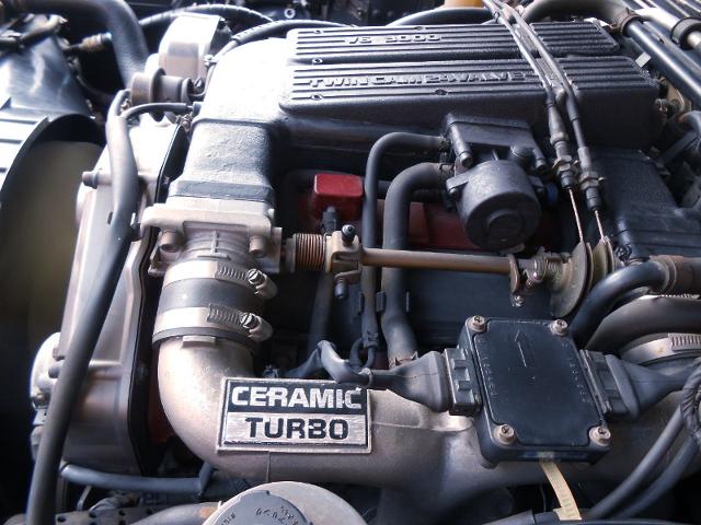 VG30DET 3000cc V6 TURBO ENGINE OF Y31 CIMA MOTOR.