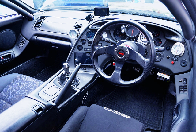 ROLL CAGE AND DASHBOARD OF JZA80 SUPRA RZ-S.