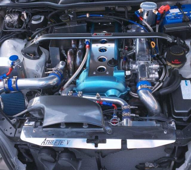 VVTi 1JZ-GTE with HKS GT-RS TURBINE.