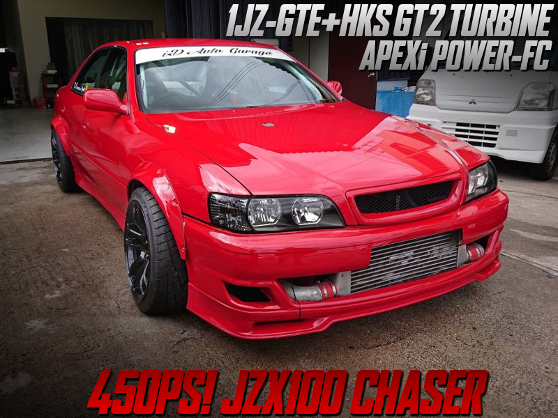 HKS GT2 TURBOCHARGED JZX100 CHASER to DRIFT SPEC.