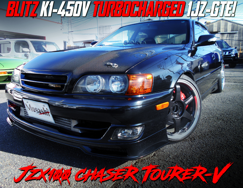 BLITZ K1-450V TURBOCHARGED JZX100 CHASER TOURER-V.