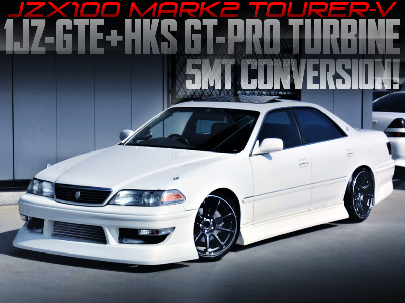 HKS GT-PRO TURBOCHARGED JZX100 MARK 2 TOURER-V.