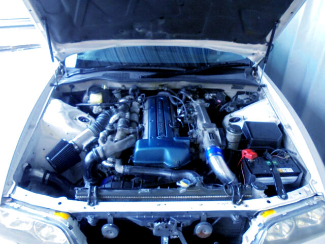 VVT-i 2JZ-GTE 3.0L TWIN TURBO ENGINE.