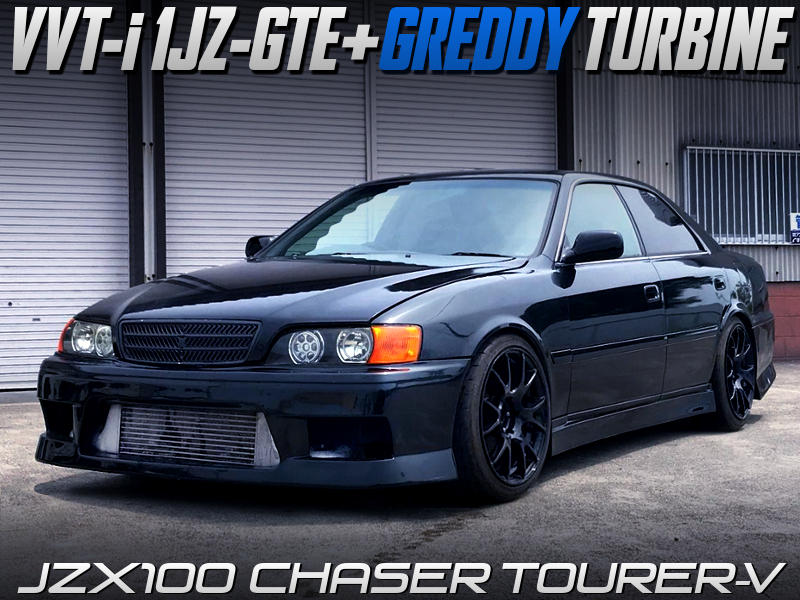 GREDDY TURBOCHARGED JZX100 CHASER TOURER-V.