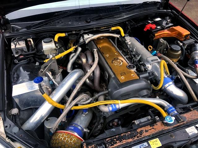 VVTi 1JZ-GTE with HKS GT-PRO TURBO.