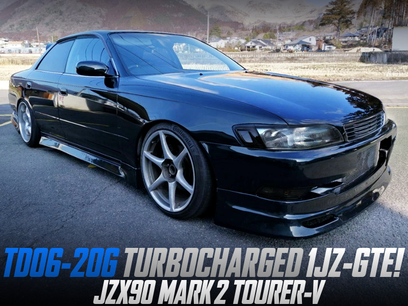 TD06-20G TURBOCHARGED JZX90 MARK 2 TOURER-V