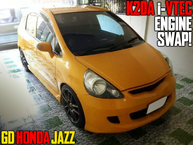 K20A i-VTEC SWAPPED GD HONDA JAZZ to JDM FIT.