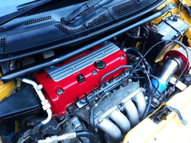 K20A i-VTEC ENGINE.