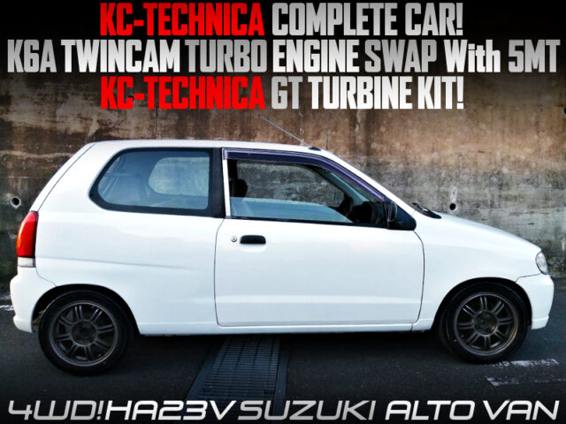 KC-TECHNICA COMPLETE CAR OF HA23V ALTO VAN TURBO.