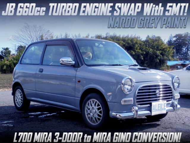 JB TURBO SWAP with 5MT INTO L700 MIRA TO MIRA GINO CONVERSION.