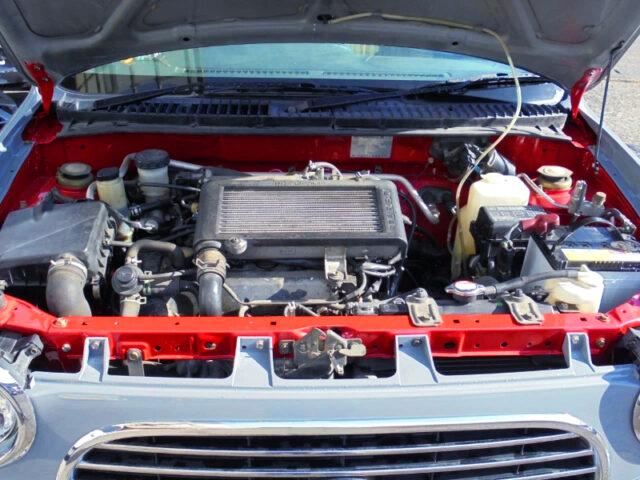 JB 660cc TURBO ENGINE SWAP.
